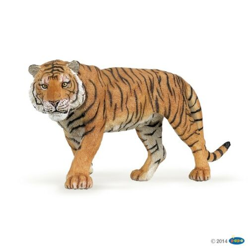 Wild Animal Kingdom-modèle 50004 Tiger Figure Papo