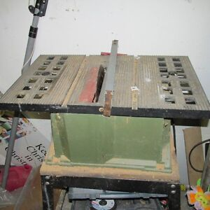 Delta table saw.