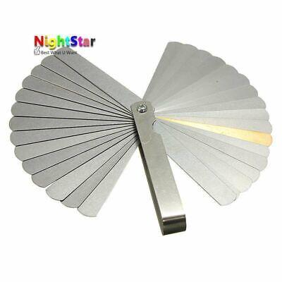 32 Blades Metric Thickness Gage Set Tappet Valve Feeler Gauge Gauges Metric Wit