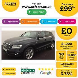 Audi Q5 FROM £99 PER WEEK!