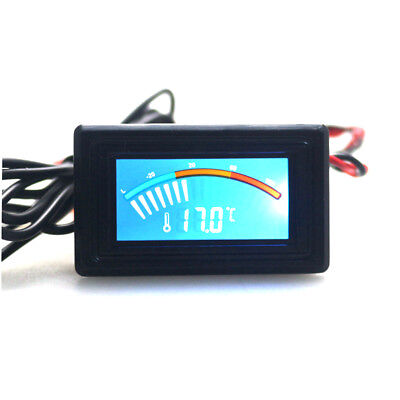 Celsiusfahrenheit Digital Pointer Thermometer Car Water Lcd Temperature Meter