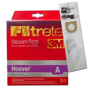 Paper Bag Microlined Type A B 3 Pack 3M Fits Concept Convertible Legacy Elite Decade Innovation Bissell Style 2 Kenmore