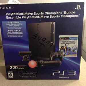 PS3 320GB with 7 games and PlayStation move