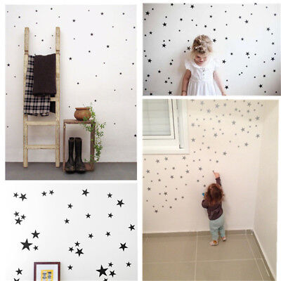 280 Star Shape Self Adhesive Vinyl Wall Stickers Colour Label Bedroom Decoration Coloured Self Adhesive Labels