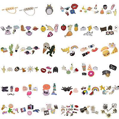 Totoro Enamel Brooch Pins Shirt Collar Lapel Pin Necktie Clip Jewelry Gift 1Set