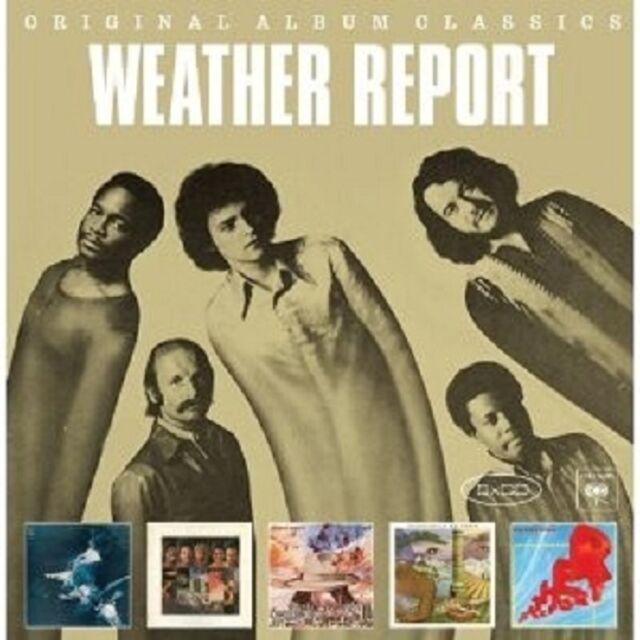 WEATHER REPORT - ORIGINAL ALBUM CLASSICS 5 CD SET NEU