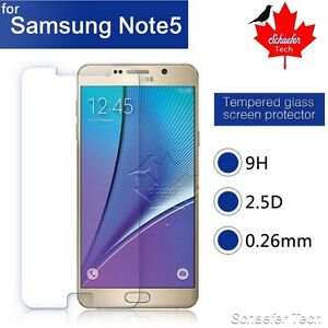 Samsung Galaxy Note 5 Screen Protection with Tempered Glass