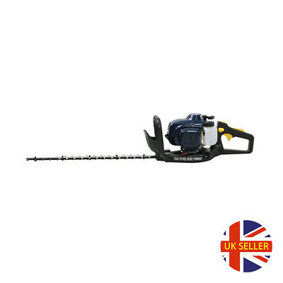 Petrol Hedge Trimmer Cordless Grass Long Reach Trimmers Cutter Large Blade 26CC for sale  Shipping to Ireland