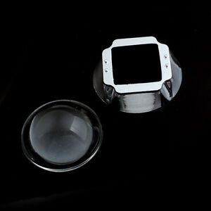 44mm Led Linse Reflektor Kollimator + 50mm Basis Becher für 20W 30W 50W 100W