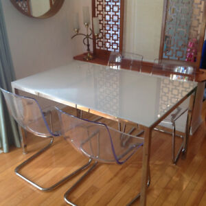 Modern contemporary kitchen/dining table
