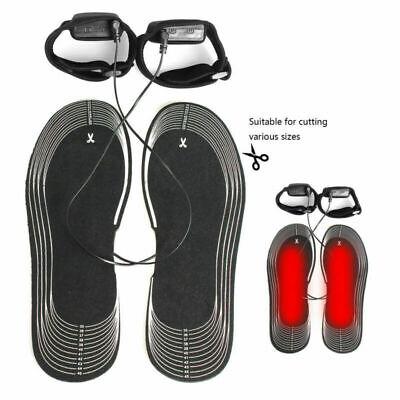 DE Beheizte Schuhsohlen beheizbare Schuh Einlegesohlen Einlagen Thermosohlen KD1
