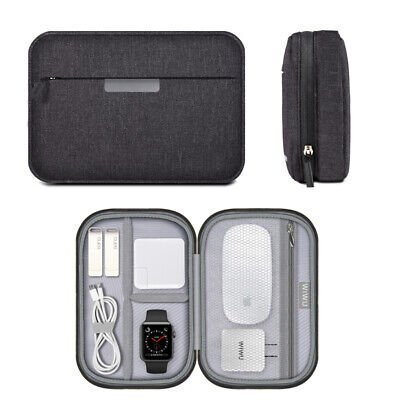 Electronic Accessories USB Cable Organizer Bag Travel Charger Storage Case Pouch