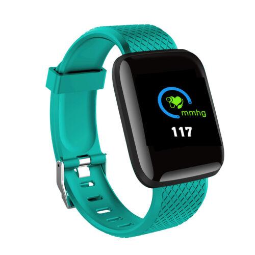 Waterproof Sport Smart Watch Bracelet Heart Rate Blood Pressure Fitness Tracker