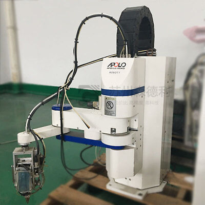 Used Apollo Seiko Janome Scara Soldering Robot Model Jsr-4400