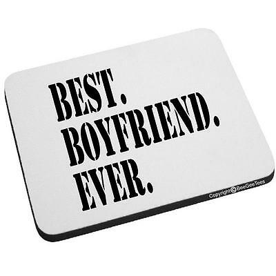 Beegeetees Best Boyfriend Ever Mouse Pad Valentines Day Birthday Gift
