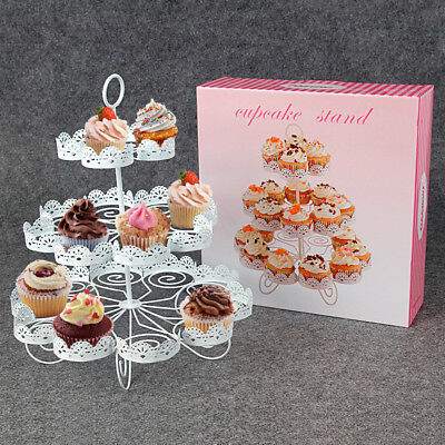23Count Cupcake Stand Holder Display Cooking Wedding Party Holder Stand Rack - Cupcake Rack