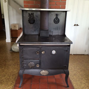 Stanley Waterford Wood Cook Stove for Sale