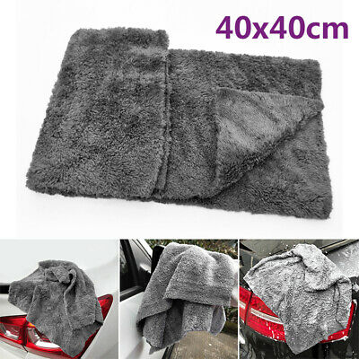Care Car Wash Towel Supplies Accessories Automotive Detailing 40*40CM Car Useful Car Wash Detailing Supplies