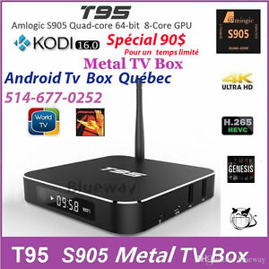 Android Tv BOx T95 2GB 64Bits****Best Streaming and services ***
