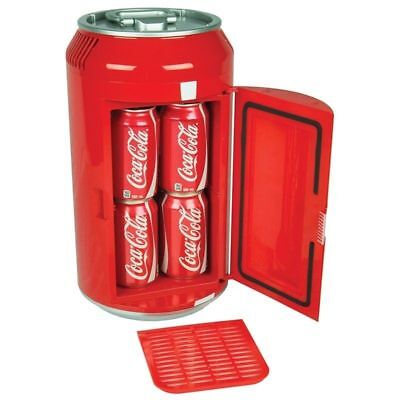 Portable Coca Cola Mini Can Fridge Electric Cooler Freezer Refrigerator 8 Cans for sale  Irving
