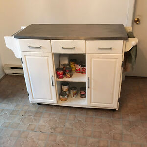 appliance stand and spice rack
