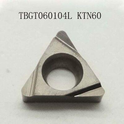 Tbgt060104l Ktn60 Threading Carbide Inserts Cutting Tool For Lathe Cnc 10p