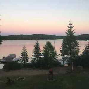 Waterfront Chalet For Rent - Spectacular Views!