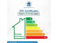 EPC Certificate | Cheapest Fixed Fee Guaranteed | starting from £39.99 including tax