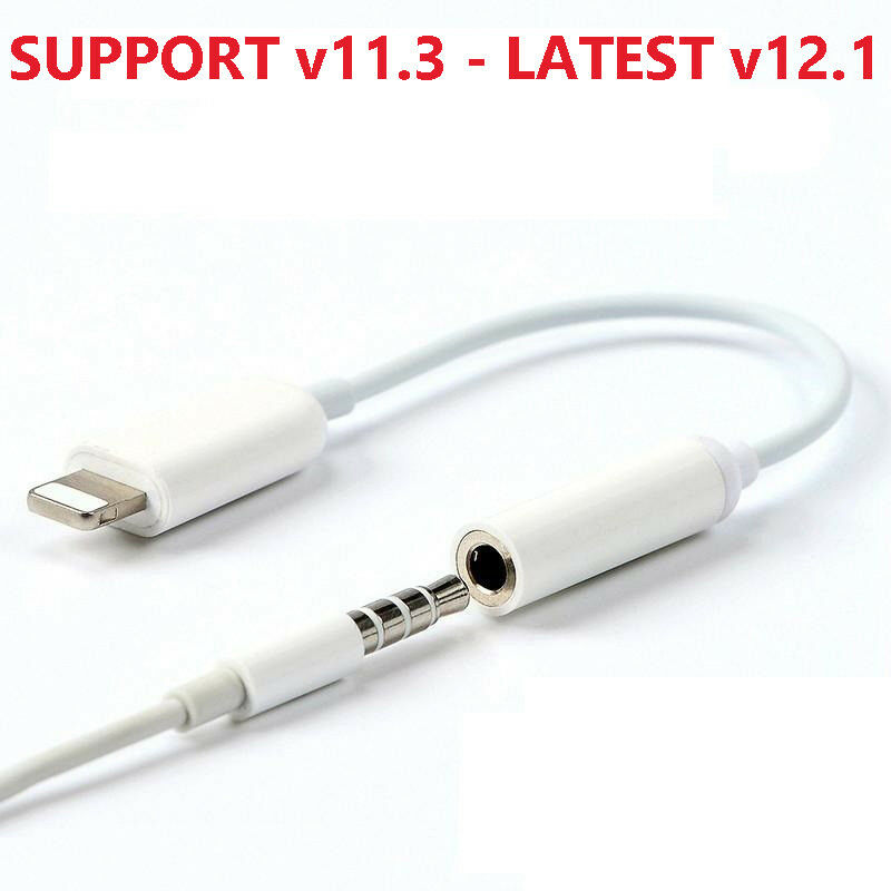 White iPhone Headphone Jack Adapter 3 Pack Headphone Jack Adapter Connector to 3.5mm AUX Audio Jack Earphone Extender Jack Stereo Compatible iPhone 11//11Pro iPhone XR//X//Xs//8//8Plus//7//7Plus Pluv