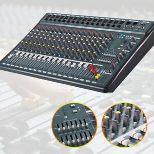 16 Channels Professional Powered Mixer