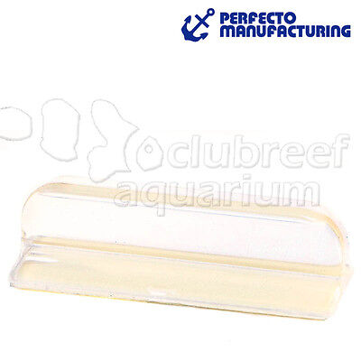 Perfecto Aquarium Fish Tank Glass Lid Canopy Self Adhesive Clear Handle