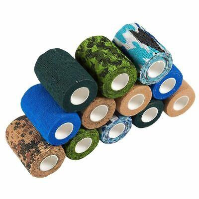 Juvale Self Adherent Wrap - 12 Pack of Cohesive Bandage Medi