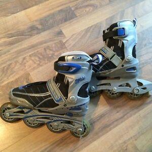 Patins à roues allignées ajustable pour enfants