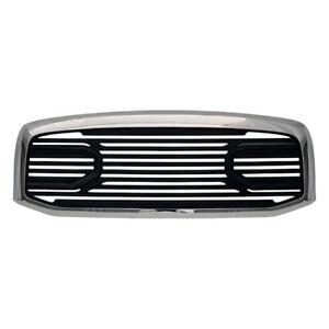 Chrome/Black Grille for 2006-08 Dodge Ram 1500/2500/3500