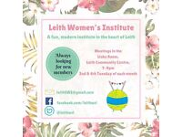 Scottish Women's Institute - New members welcome