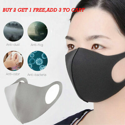 Outdoor Air Purifying Face Mask Face Cover Haze Fog Mouth Masks Washable