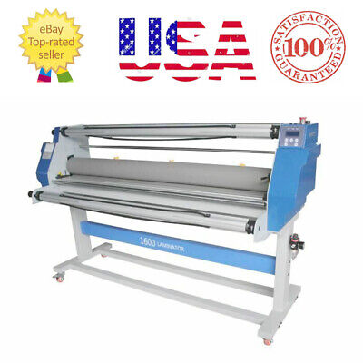 Enhanced 60 Fullauto Wide Format Single Side Hot Laminating Cold Roll Laminator