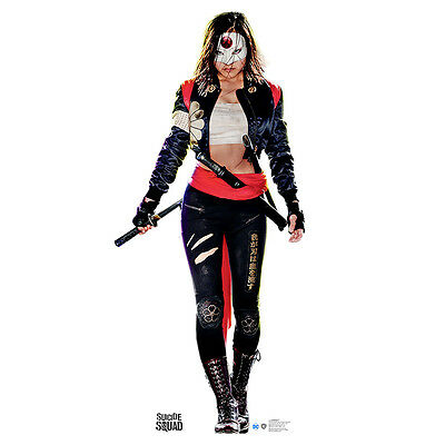 KATANA Suicide Squad Fukuhara Lifesize CARDBOARD CUTOUT Standup Standee Poster