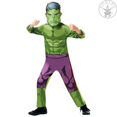 RUB 3640838 Hulk Avengers Assemble Classic Kinder Kostüm Jungen Karneval Marvel