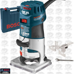 BOSCH Variable Speed Electronic Palm Router Kit - BNIB