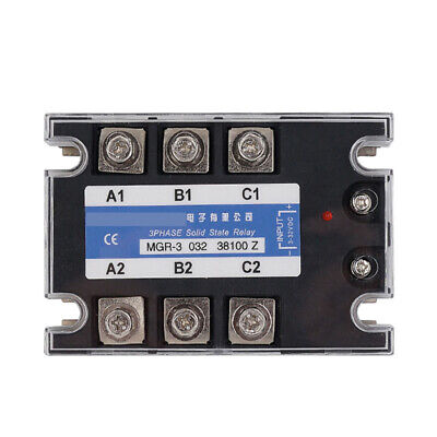 Three-phase Solid State Relay For Mager Mgr-3 032 38100z Tsr-100da 3-32vdc