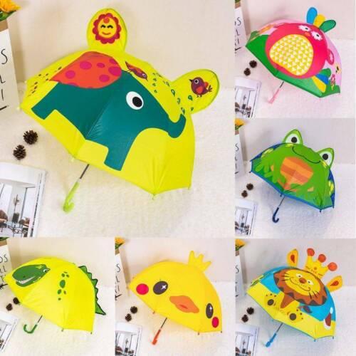 Child Umbrella Boy Girl Cartoon Animal Ears Umbrella Princes