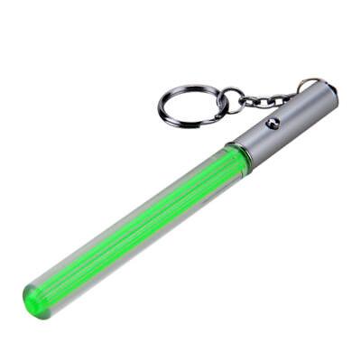 Zauberstab Stick Licht Saber Keychain LED Licht Glow Mädchen Blinkende Fee Lamp