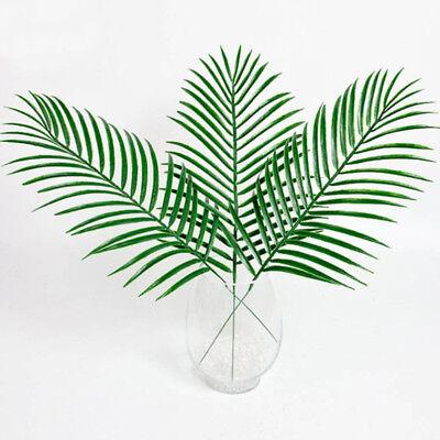 Gefälschte Palme (Groß Grün Palm-Leaves Plastik Gefälschte Pflanze Künstlich Blatt Ausverkauf!)