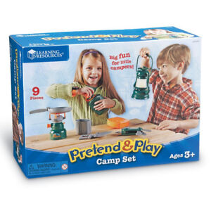 NEW: Learning Resources Pretend & Play Camp Set