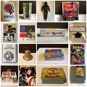 COLLECTIBLES ONLINE AUCTION ENDS TONIGHT