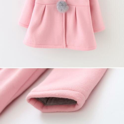 Toddler Baby Bunny Hooded Outwear Tops