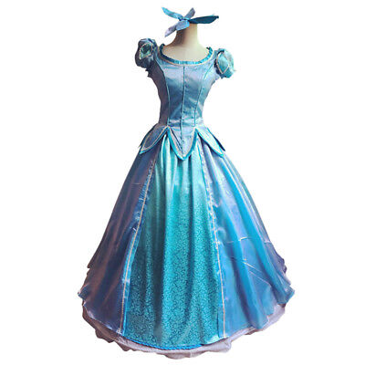 Adult Ariel Dress Costume (Princess Ariel Adult Costume The Little Mermaid Dress Comiket Stain Cosplay)