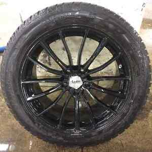 4x Advanti Racing sur Dunlop SP Winter (Range Rover Sport)