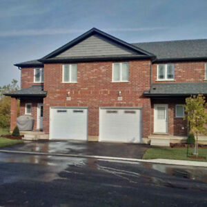 3 bedroom new townhome with lots of upgrades